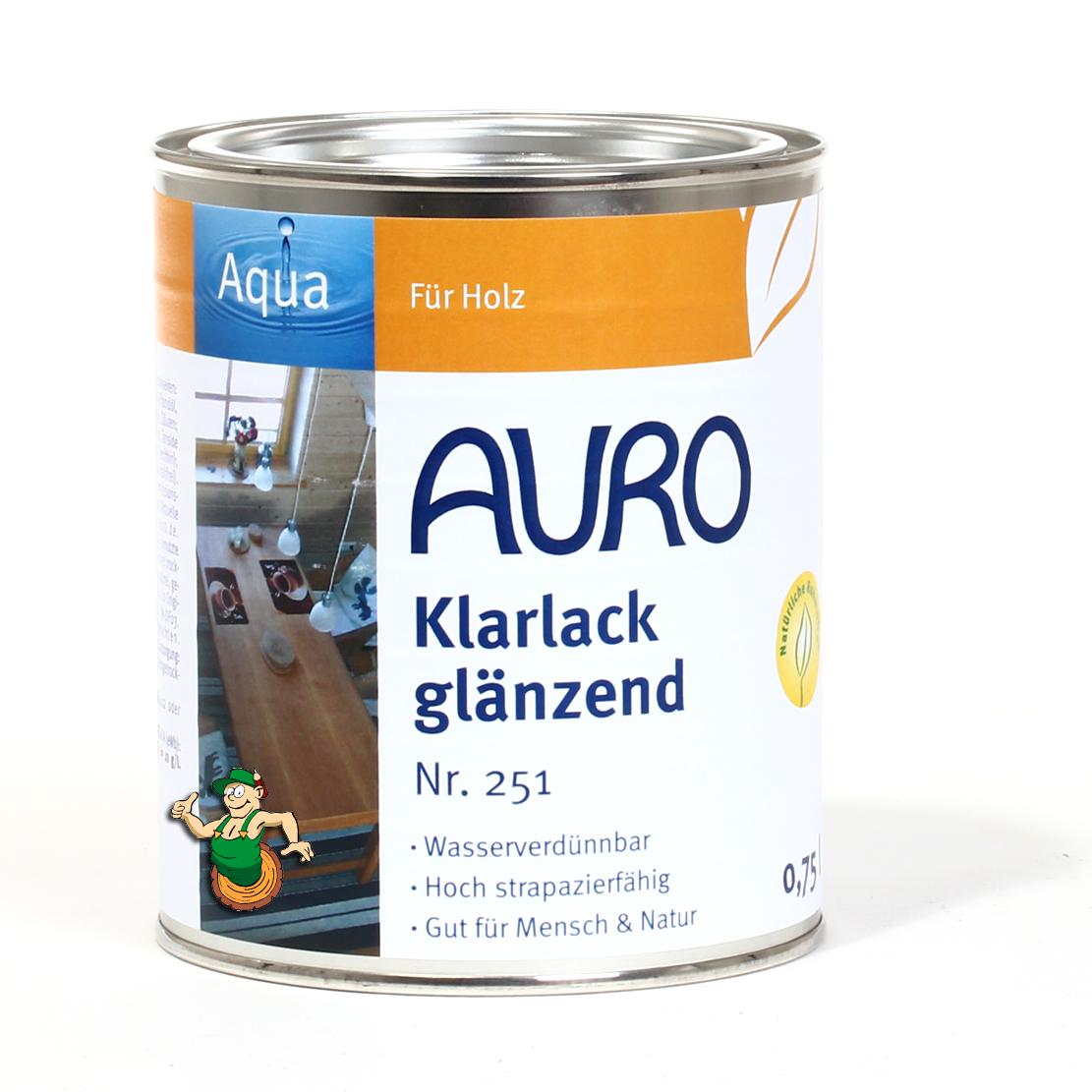 auro klarlack, glänzend nr. 251 | auro shop