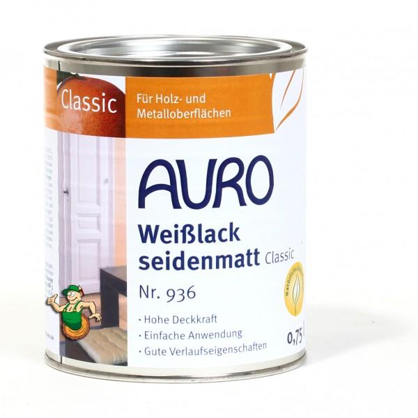 Weißlack, seidenmatt, Classic Nr. 936
