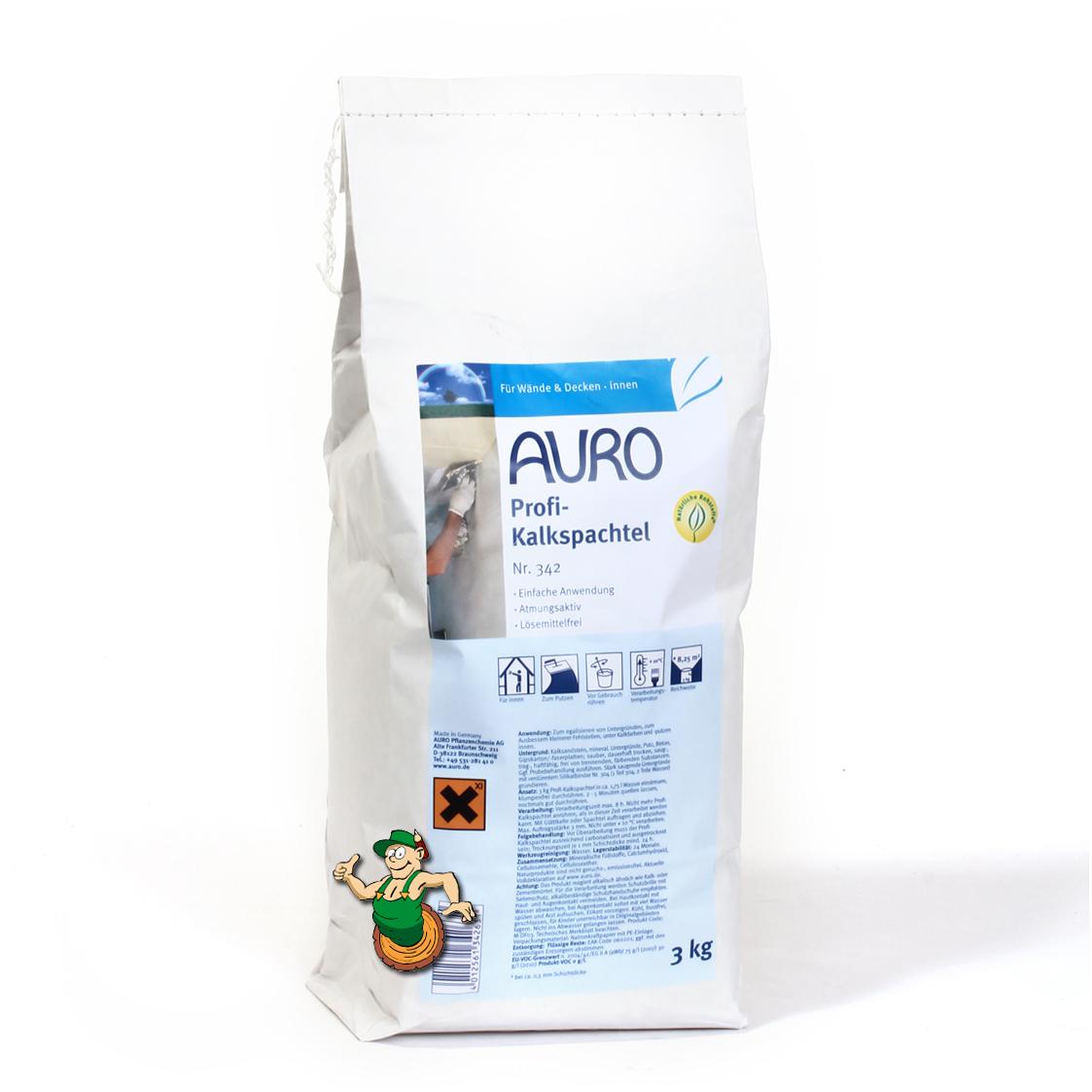 auro profi-kalkspachtel nr. 342 | auro shop