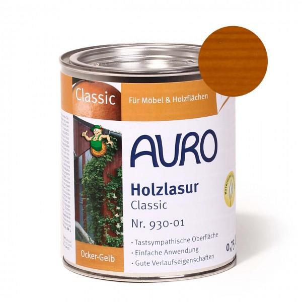 Holzlasur, Classic, Nr. 930-01 Ocker-Gelb