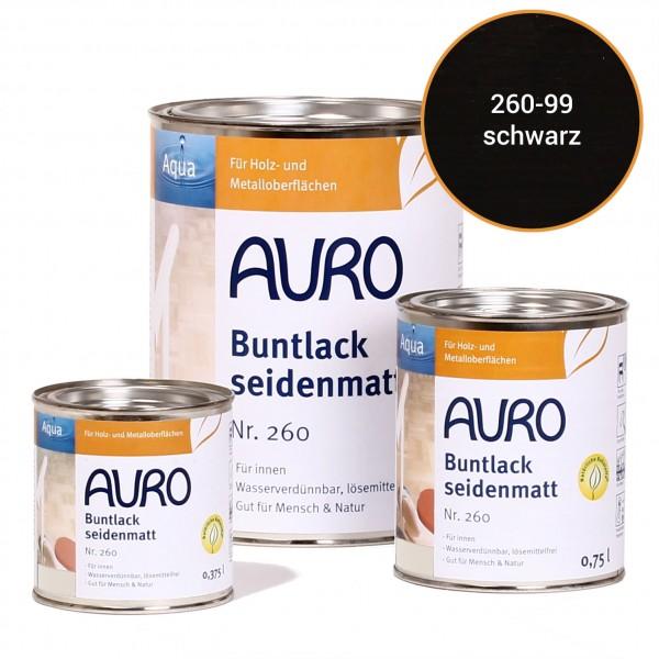 Buntlack, seidenmatt Nr. 260 Schwarz