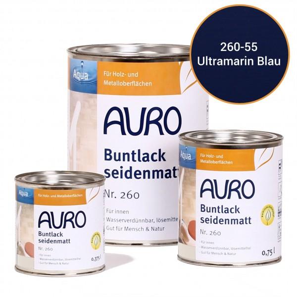 Buntlack, seidenmatt Nr. 260 Ultramarin-Blau