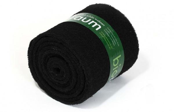 Schwarze Reinigungspads auf Rolle XL