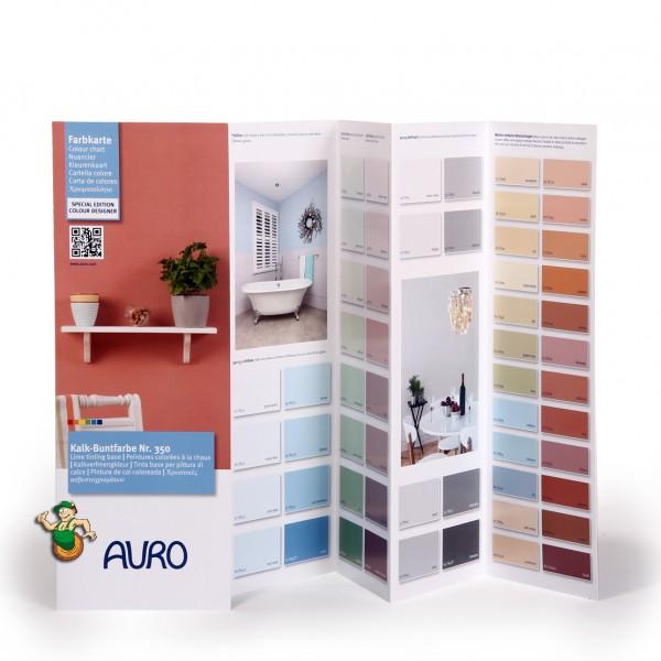 Farbkarte Kalk-Buntfarbe Nr. 350