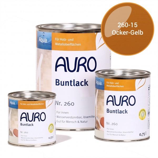 Buntlack, glänzend, Nr. 250 Ocker-Gelb, Innen- und Außenbereich