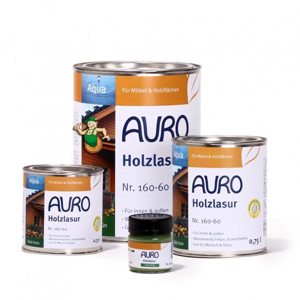Holzlasur, Aqua, Nr. 160-60 Oxid-Grün