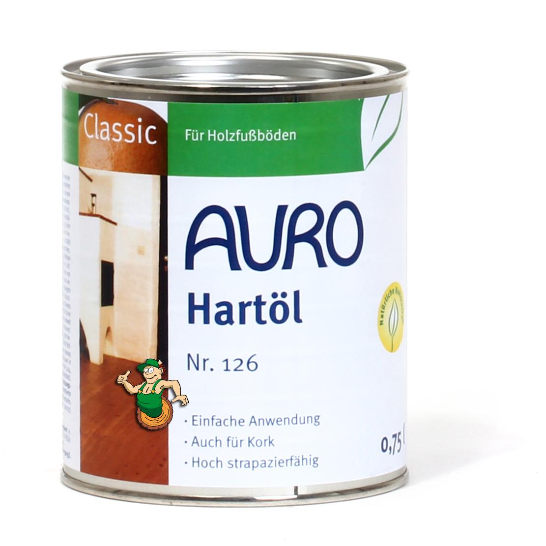 auro hartöl classic 126 | auro shop